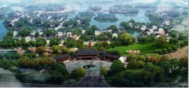 形如太极、道似迷宫,文化底蕴深厚的昆山姜杭村